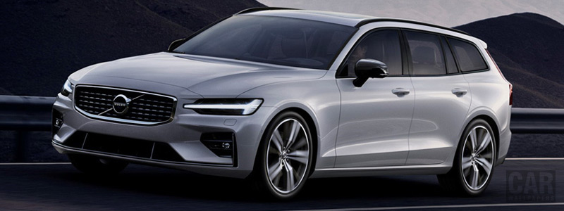 Cars wallpapers Volvo V60 T6 AWD R-Design - 2018 - Car wallpapers