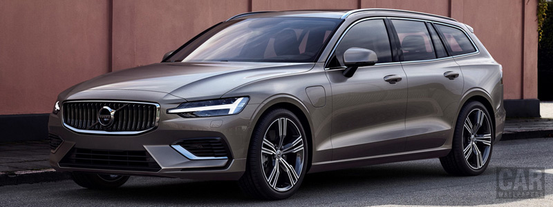 Cars wallpapers Volvo V60 T8 Twin Engine AWD Inscription - 2018 - Car wallpapers