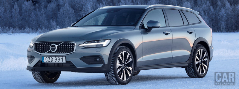 Cars wallpapers Volvo V60 T5 Cross Country - 2019 - Car wallpapers