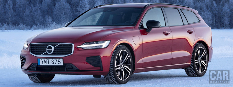 Cars wallpapers Volvo V60 T8 R-Design - 2019 - Car wallpapers