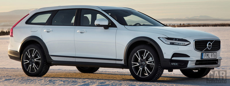 Cars wallpapers Volvo V90 T6 Cross Country - 2017 - Car wallpapers