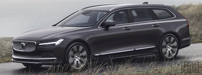 Cars wallpapers Volvo V90 T8 AWD Recharge Inscription - 2020 - Car wallpapers