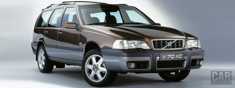 Cars wallpapers Volvo V70 XC - 1999 - Car wallpapers