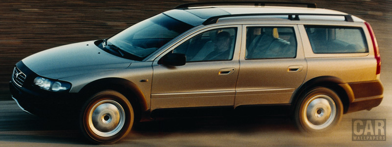 Cars wallpapers Volvo V70 XC - 2001 - Car wallpapers