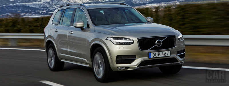 Cars wallpapers Volvo XC90 D5 Momentum - 2015 - Car wallpapers